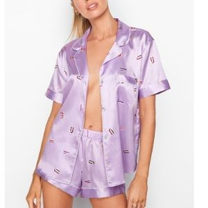 Victoria's Secret - The Satin Boxer Pj Set